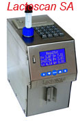 Detailed information about milk analyser Lactoscan SA